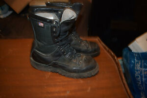"Danner Acadia Duty Combat Leather Boots Goretex 8"" Black  Women's Size 6.5"