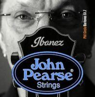 John Pearse BARITONE GUITAR STRINGS Phil Circle Custom  Acoustic 15-68 (ONE SET)