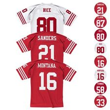 San Francisco 49ers NFL Mitchell & Ness Home Road Legacy Jersey Collection Men's