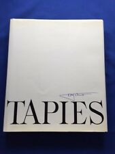 TAPIES - LIMITED EDITION #40 OF 50 COPIES WITH SIGNED PRINT BY ANTONI TAPIES