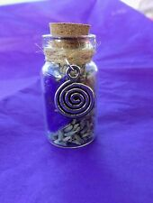 Witch Bottle spell Kit  to  Ease Anxiety Magical Herb Spell Talisman Pagan