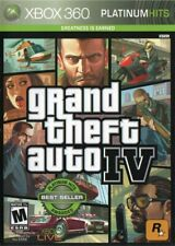 Grand Theft Auto IV Xbox 360 Platinum Hits Edition w/Case No Manual