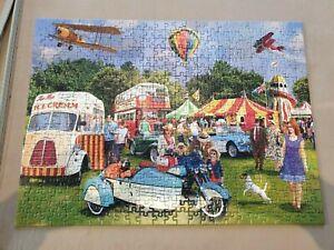 Festival of Nostalgia - 500 Piece Puzzle Excellent Condition - Complete