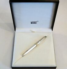 MONTBLANC MEISTERSTUCK SOLITAIRE FOUNTAIN PEN IN STERLING SILVER 925 / 18K NIB