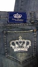 ROCK & REPUBLIC VICTORIA BECHAM CUT # 7667 JEANS Women MEAS: 31x32 (A82B4)