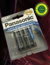 40 pcs Size AAA LR3 AM4 MN2400 Panasonic Card 1.5V Zinc-Carbon Battery