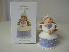 Hallmark Ornament 2012 SWEET ANGEL CAKE NEW Club Exclusive KOC Food Blonde Wings