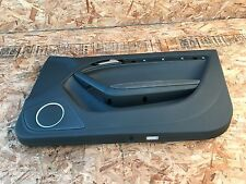 AUDI A5 S5 RS5 B8 8K RIGHT SIDE LEATHER DOOR PANEL ASSEMBLY OEM BLACK COLOR