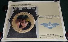 THREE DAYS OF THE CONDOR 1975 ORIGINAL ROLLED HALF SHEET MOVIE POSTER REDFORD