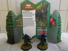 Heroscape Custom Doombots Double Sided Card and Figures w/ Sleeve Marvel