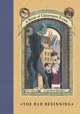 A Series of Unfortunate Events: The Bad Beginning 1 by Lemony Snicket (1999, Har