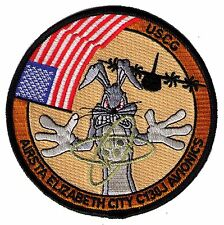 Air Sta Elizabeth City C-130J Avionics Bugs Bunny W5492 Uscg Coast Guard patch