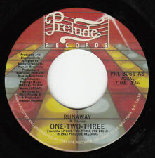 RARE 80s BOOGIE FUNK 45~ONE-TWO-THREE~RUNAWAY~PRELUDE~NEAR MINT