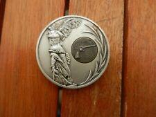 médaille de table militaire française de tir challenge.Alsace 1976