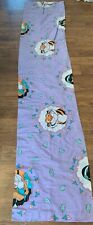 Vintage Disney Aladdin Jasmin and Rajah Curtain Panels Set of Two Purple