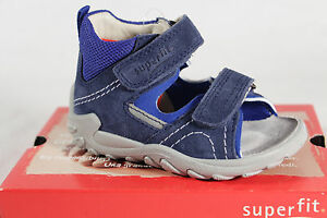 Superfit Boys Walker Shoes Sandals Real Leather Blue New
