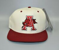 Arkansas Razorbacks New Era Vintage 90's NCAA Snapback Cap Hat - NWT