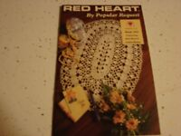 RED HEART 1990   BY POPULAR REQUEST  ~   6 CROCHET DESIGNS  Book 350