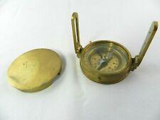 Vintage Marine Maritime Compass Brass Nautical Compass