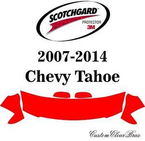 3M Scotchgard Paint Protection Film Clear Bra Pre-Cut Kits 2007 2014 Chevy Tahoe