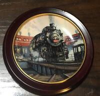 Portrait in Steam Hamilton Collection Series 1990 Collectors Plate; Golden Age