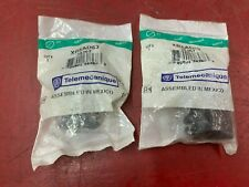 LOT OF 2 NEW IN BAG TELEMECANIQUE SELECTOR SWITCH XB5AD53