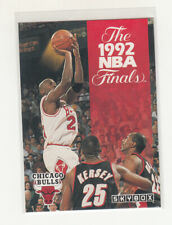 MICHAEL JORDAN 1992-93 Skybox #314 Chicago Bulls Mint Finals MVP with Trophy