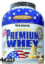 Weider Premium Whey 2,3Kg (23,41�'�/Kg) Protein BCAA Eiwei�Ÿ Shake 2300g Dose