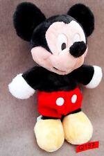 Peluche / doudou n°Q197: MICKEY 28CM Disney marque NICOTOY