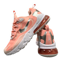 Nike Air React 270 Women's Girl's Shoes Size Uk 4 Pink Running Trainers EUR 36.5