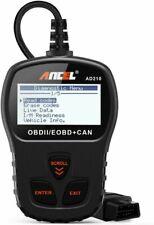 ANCEL AD210 OBD II Automotive Diagnostic Scanner - Black