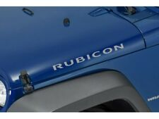 07-18 JEEP WRANGLER JK RUBICON RADIANT SILVER HOOD DECAL STICKER NEW OEM MOPAR