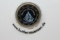 2 Euro mit Weihnachts motiv Merry Christmas
