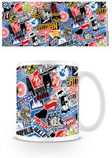 NEW! BATMAN V SUPERMAN STICKERS MUG