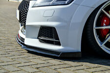 Sonderaktion Frontspoiler mit Wing aus ABS für Audi TT TTS 8S S-Line mit ABE