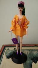 Barbie silkstone chinoiserie Red Moon relookée tenue de plage + accessoires