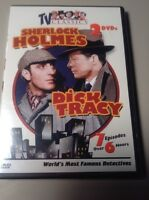 TV Classics: World's Most Famous Detective 2dvd  sherlock holmes dick tracy