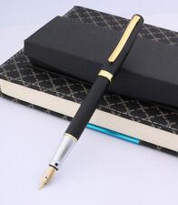 Vintage Fountain Pen Duke 209 Matte Black 22KGP M Nib Without Box
