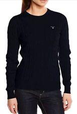 GANT 480021 Damen Pullover Sweater Gr.M Schwarz UPE 149,99€ NEU*