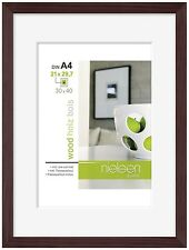 Nielsen Apollo Wenge Wood Picture Frame 30 x 40 cm A4 Mount