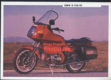 BMW R100RT (1991) Dealership Sales Brochure R100,R 100 RT,Boxer Twin