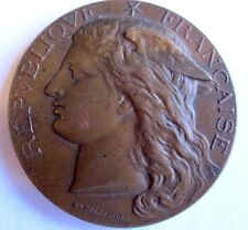 Mariannemedal By Ponscarme/Annecy/ 1892/ Giveen By Ministre Bronze Medal / N.127