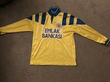 More details for fenerbache 1992-93 shirt mens vintage long sleeves pit to pit 23 inches number 7