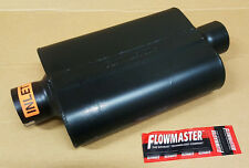"Flowmaster Super 44 Series Steel Muffler 3"" Center Inlet / Center Outlet 943045"