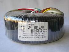 115V/230V 200W Toroid Transformer Output 28V+28V 15V+15V