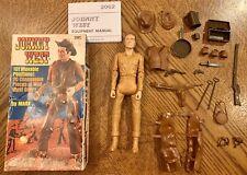 Marx Johnny West Vintage Cowboy Campfire Box