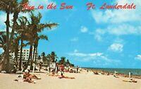 Postcard Beach Fort Lauderdale Florida