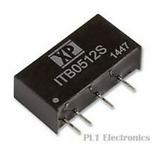 XP POWER    ITB2405S    Isolated Board Mount DC/DC Converter, SIP, Fixed, Throug