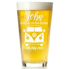 Father Of The Bride Personalised Engraved Wedding Glass | Wine | Tumbler | Pint