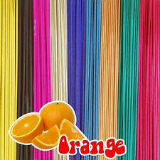 Extra Long Incense Joss Sticks Scent Collection (pack of 100) - 1 HR Burn Time Orange